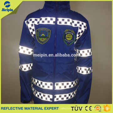 Проверено Отражательная лента PVC Отражательная куртка открытый водонепроницаемый