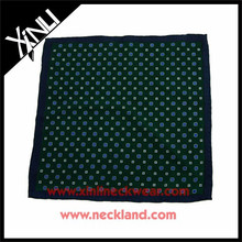 New Product Men Suit Custom Print Pocket Square