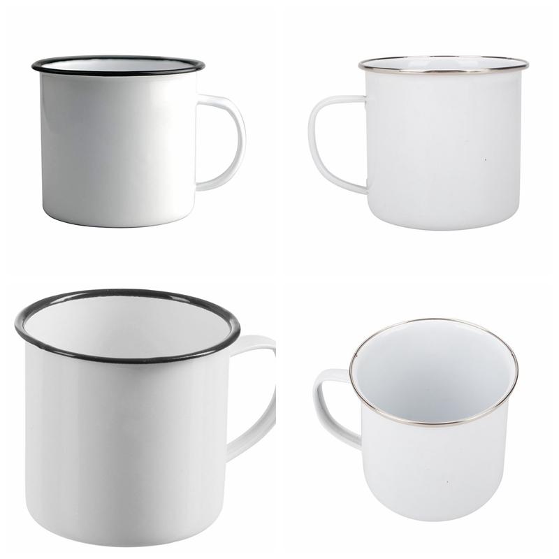 Enamel Mug Cooking