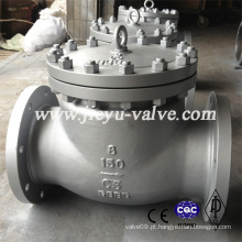 300lb aço de liga A217 C5 Swing válvula de retenção