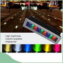 RGB LED colorido luz subterráneo