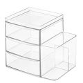 Clarity Cosmetic Makeup Organizer for Vanity Cabinet