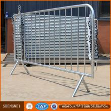 Barrière de contrôle de foule en métal de sécurité