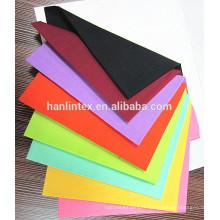 Chine fournisseur tissu textile 96x72 / 110x76 / 133x72 tissu de shirting