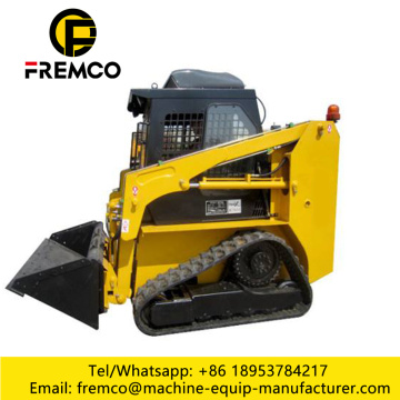 High Dump Bucket Skid Loader