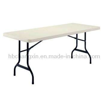 Sıcak satış yeni Modern 6 ft plastik Katlanır Masalar