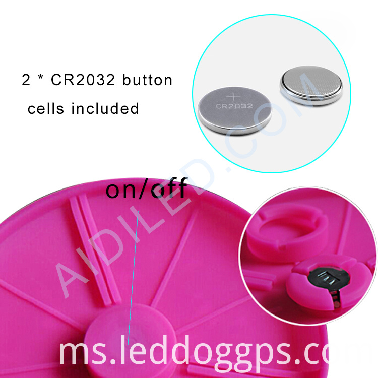 Led Dog Playing Disc