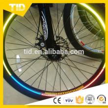 Etiqueta engomada de la cinta de color luminoso para la decoración de la motocicleta del coche