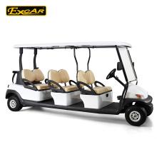 6 Plätze 48V elektrische Golfwagen, Sightseeing-Bus