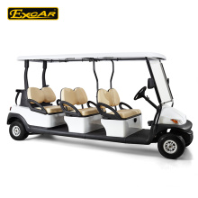 6 seats 48V electric golf cart, sightseeing bus