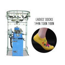 3.75 inch automatic dual-use terry & plain computer socks knitting machine 6f sock making machine price