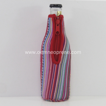 Neoprene Beer Bottle Cooler Cover Colorful Printing