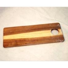 Rectangular Acacia Wood Cutting Board With Hanging Hole