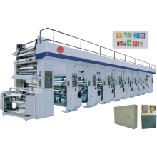 High-speed Computerized 6-color Rotogravure Printing Machine