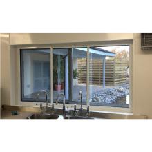 fenêtres en aluminium de couleur fabriquées en usine pour la maison
