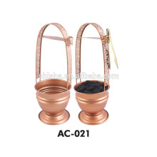 Cachimbo de água acessório alta qualidade nova cesta de carvão inox Hookah Shisha