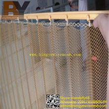 Decorative Wire Mesh Fabric Hanging Metal Curtain