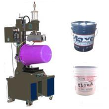 Máquina de transferencia de calor cilíndrica neumática para cubo