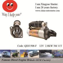 Unidad del generador y bomba de agua Motor de arranque de 12V usado (QDJ1508-F)