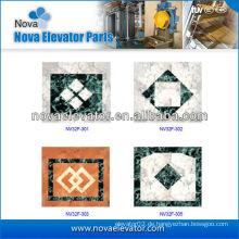 Passagier-Aufzug Kabine PVC-Boden mit Muster, Lift-Komponenten