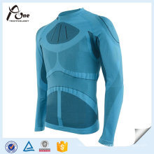 Polyester Nylon Man Thermal Tops Outdoor Fitness Wear