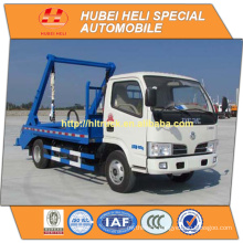 DONGFENG 4x2 small 4m3 city garbage truck recycling type 95hp hot sale