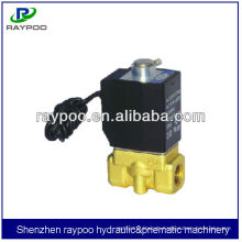 2KW 2/2way solenoid valve air piloted normally open valves