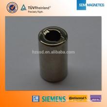 Professionelle maßgeschneiderte Kühlschrankmagnet Druckmaschine Permanentmagneten Motormagnet mit TS16949 Zertifikat
