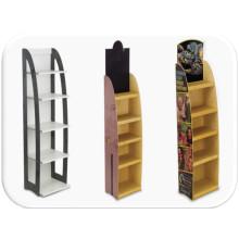 Wooden Literature Brochure Free Standing Display Rack