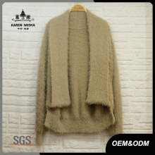 Damen Basic Cardigan Strickkleidung