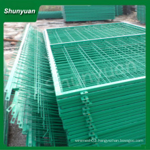 galvanized / PVC coated Security framed fence panel /framed fence mesh (FACTORY)