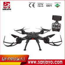 Juguetes SJY-FY910 Drone WIFI FPV con cámara Control remoto universal 3 ejes Gimbal RC gran escala Drone juguetes electrónicos