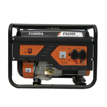 Uso doméstico 2kw portátil pequeno gasolina / gerador de energia de gasolina Fs2500