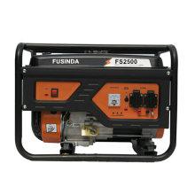 Домашнего использования 2кВт небольшой портативный Бензиновый/дизельный генератор Fs2500