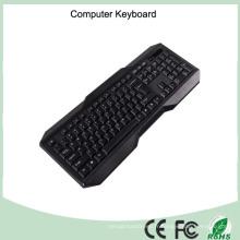 Clavier simple d'ordinateur d'impression de laser de certificat de la CE RoHS (KB-1801)