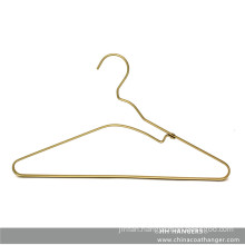 Fashion Design Rose Gold Brass Aluminium Top Clothes Hanger