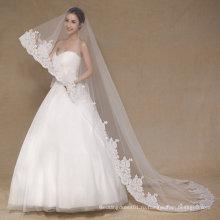 Aoliweiya тюль один слой кружево 3 м Свадебная фата для невесты