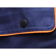 Algodón poliéster azul marino T/C ropa de trabajo de la tela cruzada