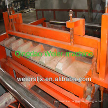European stype long lifespan corrugated and trapezoidal pvc roof tile making machine