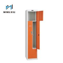 China Mingxiu Metal Office Furniture 2 Door L Steel Locker