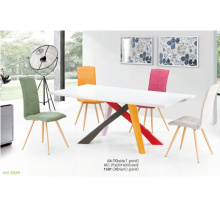 Обеденная мебель круглые вращающиеся и стулья
