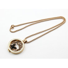 Мода Pearl Seting Плавающие украшения ожерелье Locket