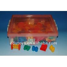 Juguetes educativos para bloques de construcción de plástico