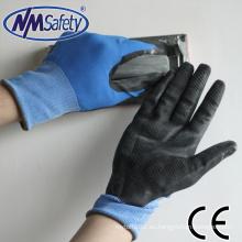 NMSAFETY 15 galga maravilla apretón espuma guantes de nitrilo guantes de seguridad agarre