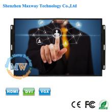 OEM / ODM usine ouverte cadre 17 pouces KTV écran tactile avec USB alimenté
