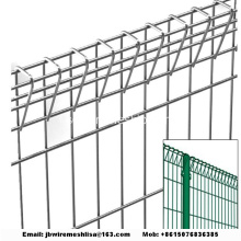 Galvaniserad Rolltop Fence / BRC Fence / Pool Fence