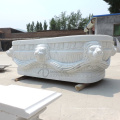 Заказ freestanding Белая Мраморный твердая Ванна для продажи