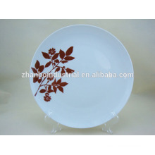 High Quality decal porcelain desert plate