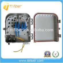 PLC 1X8 com conector SC UPC Caixa de Terminais de Fibra Óptica