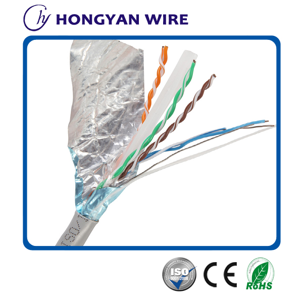 Cat 6 FTP Single Shielded LAN Cable